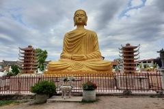 Le bouddha en méditation